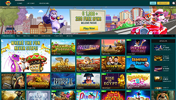 Luckland casino screenshot