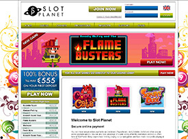 Slotplanet casino screenshot